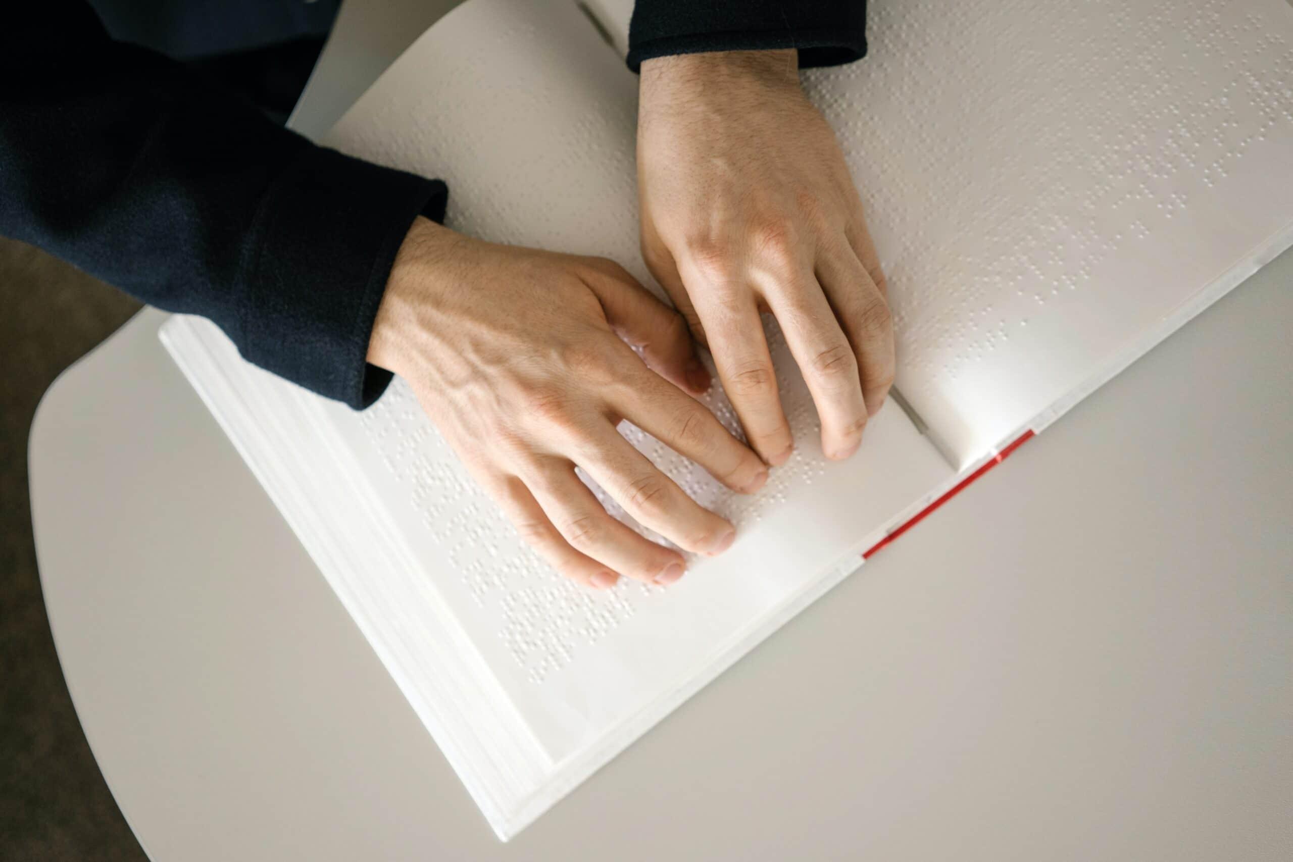 Hands on Braille book