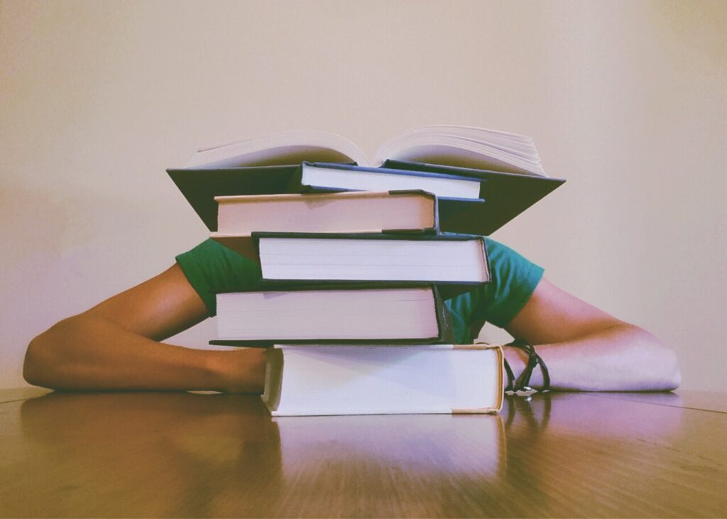 The best way to attack failure is to confront it head on...and hit the books!